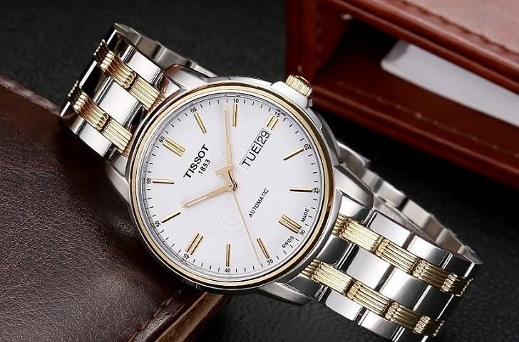 Đồng hồ Tissot T065.430.22.031.00 kính sapphire chống trầy - Ảnh 1