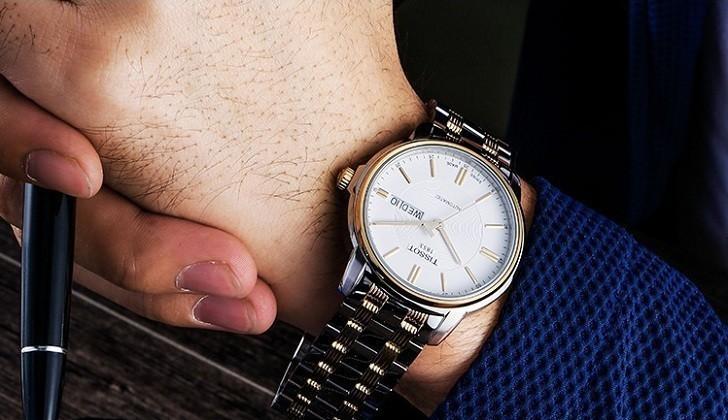 Đồng hồ Tissot T065.430.22.031.00 kính sapphire chống trầy - Ảnh 2