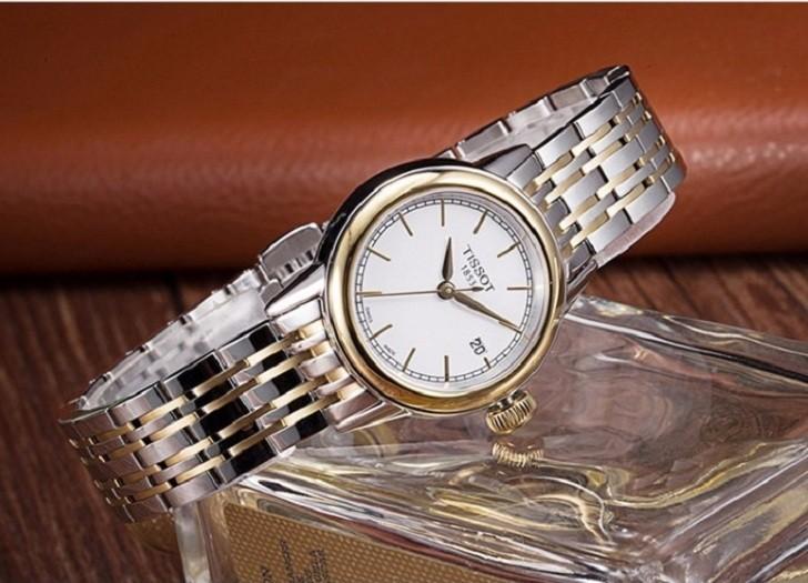 Đồng hồ Tissot T085.210.22.011.00 dây đeo demi thời trang - Ảnh 1