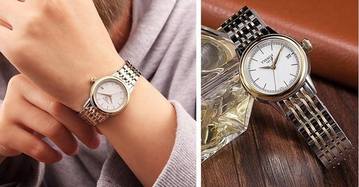 Đồng hồ Tissot T085.210.22.011.00 dây đeo demi thời trang - Ảnh 2