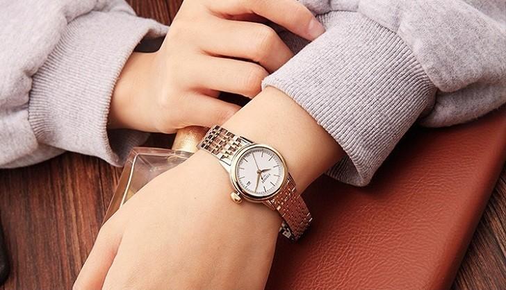 Đồng hồ Tissot T085.210.22.011.00 dây đeo demi thời trang - Ảnh 4