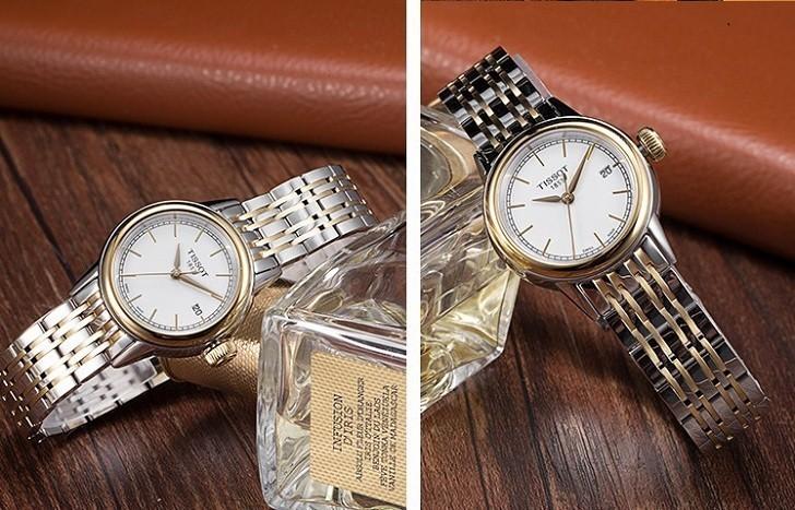 Đồng hồ Tissot T085.210.22.011.00 dây đeo demi thời trang - Ảnh 5