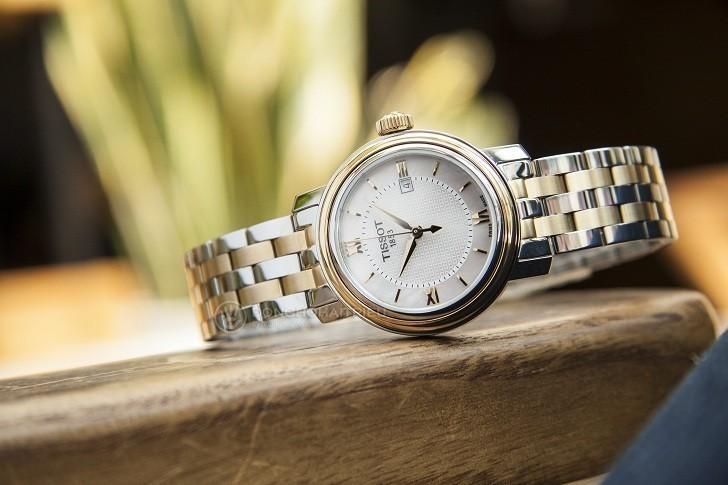 Đồng hồ Tissot T097.010.22.118.00 dây đeo mạ vàng nổi bật - Ảnh 1