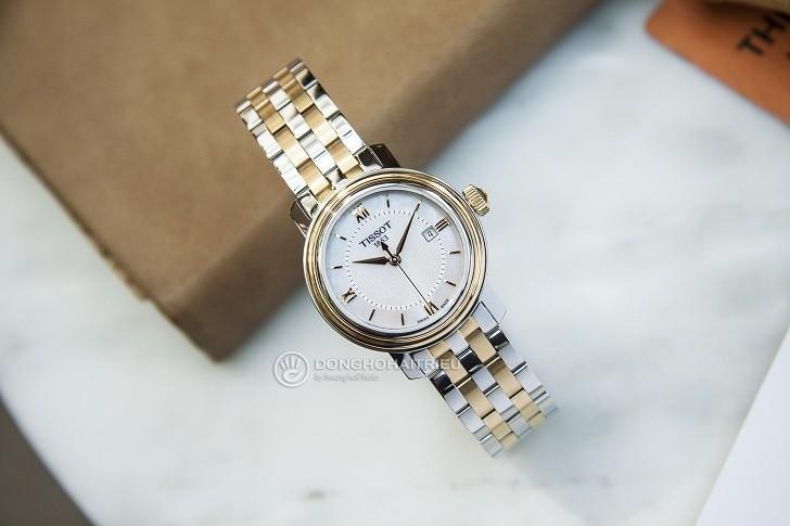 Đồng hồ Tissot T097.010.22.118.00 dây đeo mạ vàng nổi bật - Ảnh 2