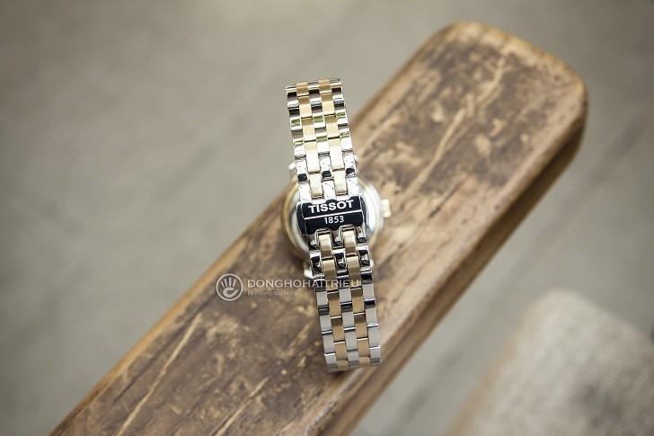 Đồng hồ Tissot T097.010.22.118.00 dây đeo mạ vàng nổi bật - Ảnh 4