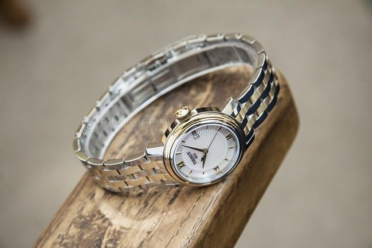 Đồng hồ Tissot T097.010.22.118.00 dây đeo mạ vàng nổi bật - Ảnh 5