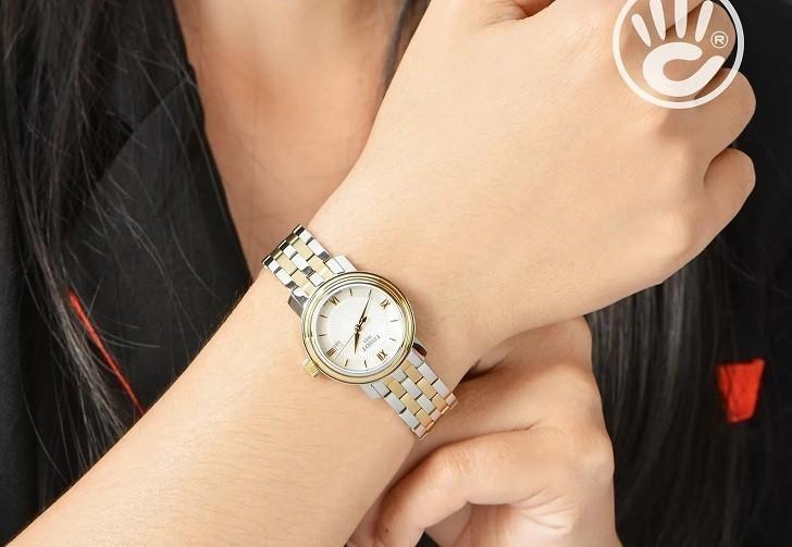 Đồng hồ Tissot T097.010.22.118.00 dây đeo mạ vàng nổi bật - Ảnh 6