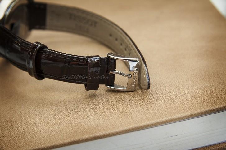 Đồng hồ Tissot T101.210.26.036.00 vạch số đính kim cương - Ảnh 5