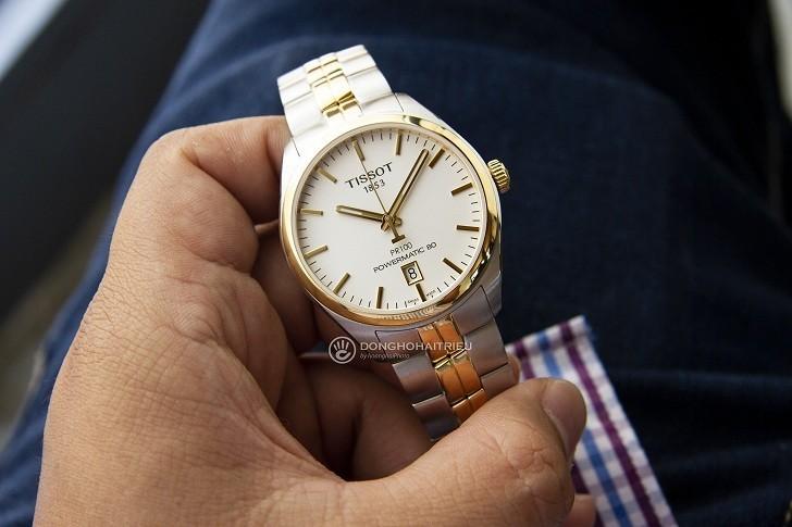 Đồng hồ Tissot T101.407.22.031.00 dây kim loại demi mạ vàng - Ảnh 1