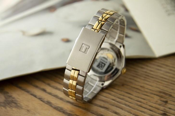 Đồng hồ Tissot T101.407.22.031.00 dây kim loại demi mạ vàng - Ảnh 4