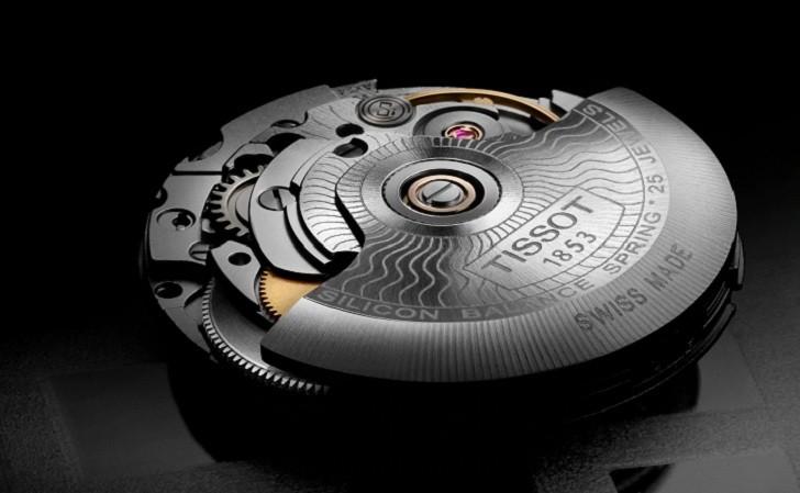 Đồng hồ Tissot T101.407.22.031.00 dây kim loại demi mạ vàng - Ảnh 5