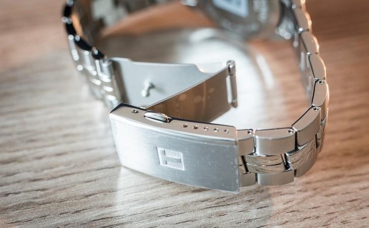 Đồng hồ Tissot T101.410.11.051.00 kim chỉ dạ quang nổi bật - Ảnh 4