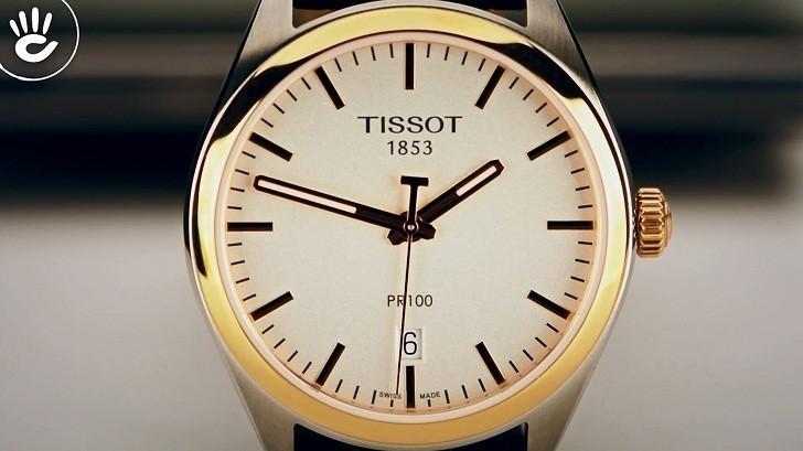 Đồng hồ Tissot T101.410.26.031.00 bộ máy quartz chính xác - Ảnh 2