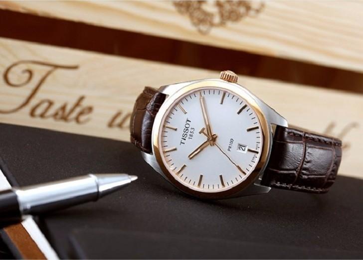 Đồng hồ Tissot T101.410.26.031.00 bộ máy quartz chính xác - Ảnh 3