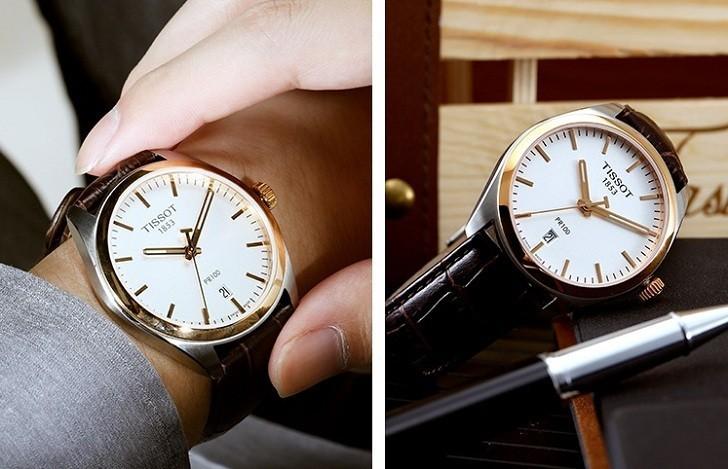 Đồng hồ Tissot T101.410.26.031.00 bộ máy quartz chính xác - Ảnh 5