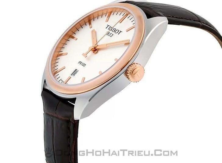 Đồng hồ Tissot T101.410.26.031.00 bộ máy quartz chính xác - Ảnh 6