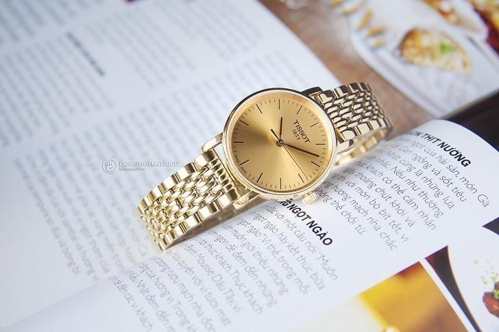 Đồng hồ Tissot T109.210.33.021.00 thiết kế mạ vàng toàn bộ - Ảnh 2