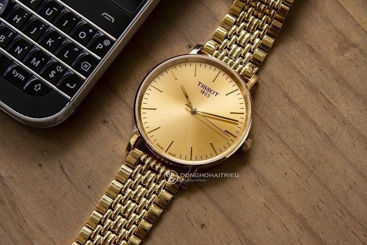 Đồng hồ Tissot T109.210.33.021.00 thiết kế mạ vàng toàn bộ - Ảnh 3