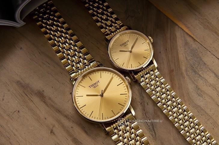 Đồng hồ Tissot T109.210.33.021.00 thiết kế mạ vàng toàn bộ - Ảnh 4