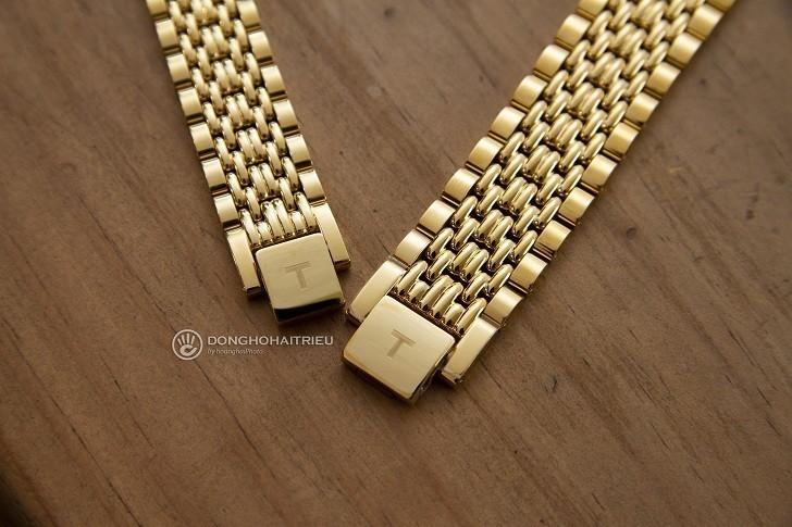 Đồng hồ Tissot T109.210.33.021.00 thiết kế mạ vàng toàn bộ - Ảnh 5