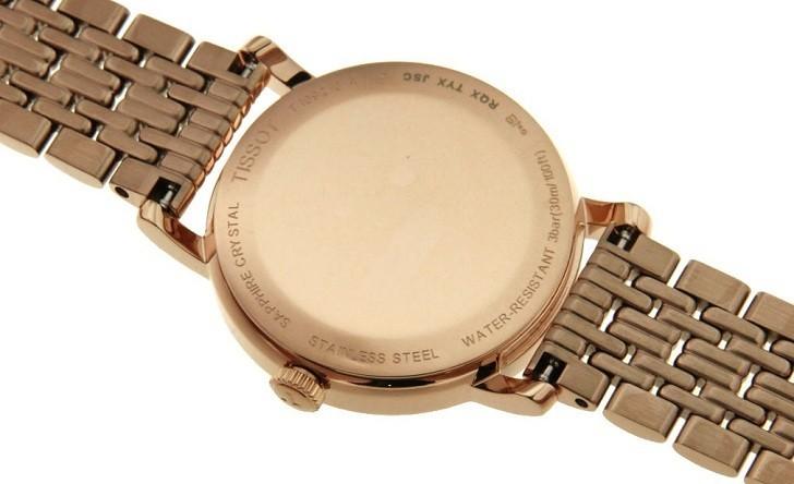 Đồng hồ Tissot T109.210.33.031.00 màu vàng hồng thời trang - Ảnh 5