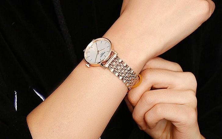 Đồng hồ Tissot T109.210.33.031.00 màu vàng hồng thời trang - Ảnh 6