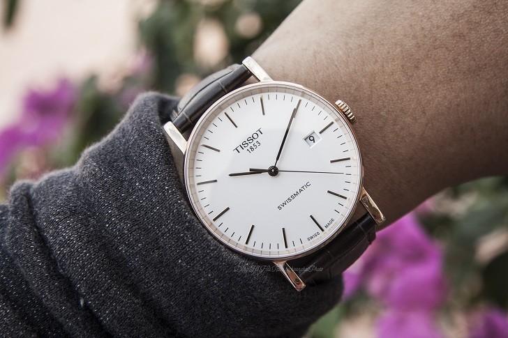 Đồng hồ Tissot T109.407.36.031.00 dây da chính hãng bền bỉ - Ảnh 2