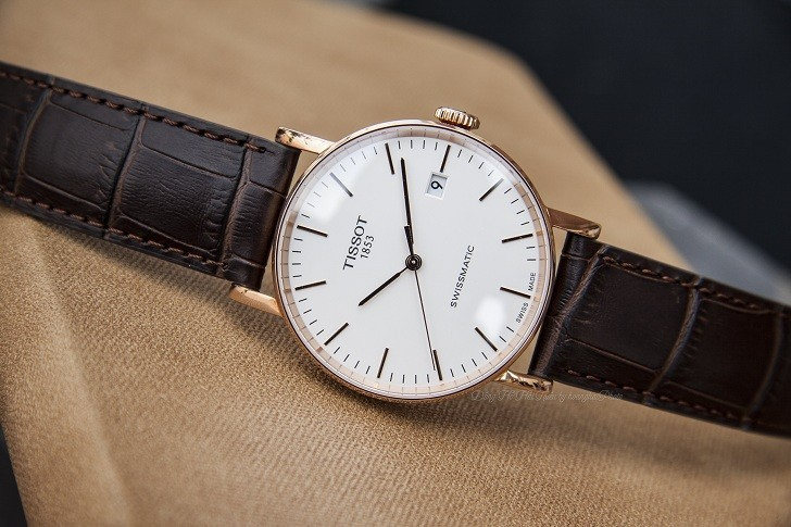 Đồng hồ Tissot T109.407.36.031.00 dây da chính hãng bền bỉ - Ảnh 3