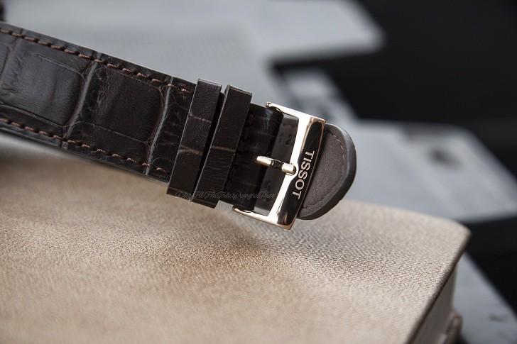 Đồng hồ Tissot T109.407.36.031.00 dây da chính hãng bền bỉ - Ảnh 4