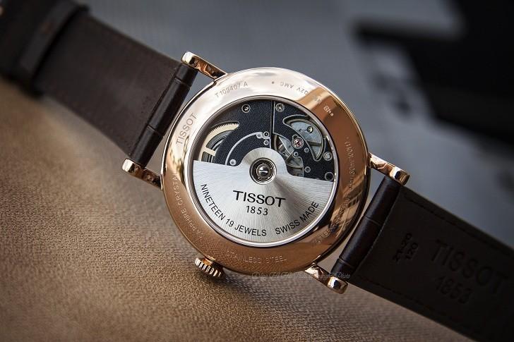 Đồng hồ Tissot T109.407.36.031.00 dây da chính hãng bền bỉ - Ảnh 5