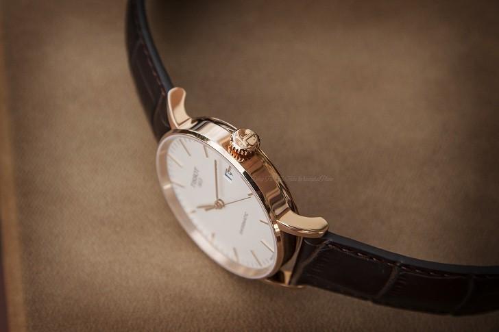 Đồng hồ Tissot T109.407.36.031.00 dây da chính hãng bền bỉ - Ảnh 6