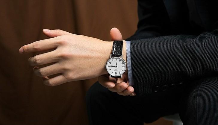 Đồng hồ Tissot T109.410.16.033.01 dây da chính hãng bền bỉ - Ảnh 1