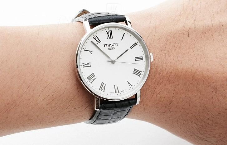 Đồng hồ Tissot T109.410.16.033.01 dây da chính hãng bền bỉ - Ảnh 2