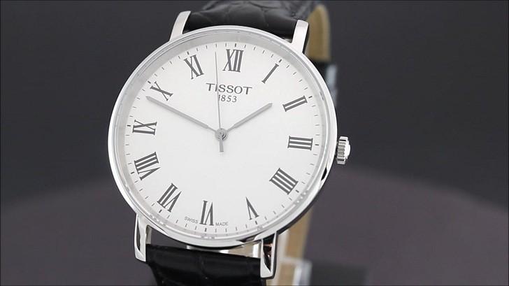 Đồng hồ Tissot T109.410.16.033.01 dây da chính hãng bền bỉ - Ảnh 3