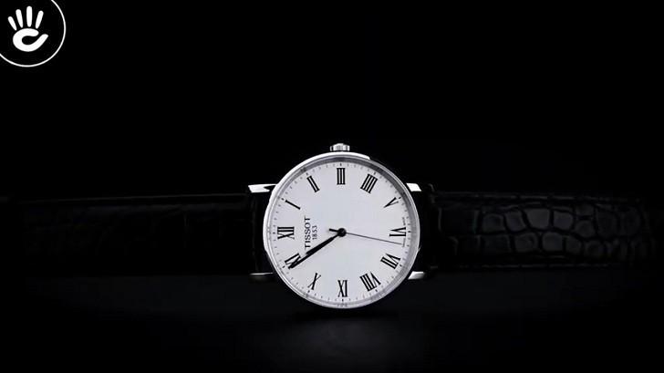 Đồng hồ Tissot T109.410.16.033.01 dây da chính hãng bền bỉ - Ảnh 4