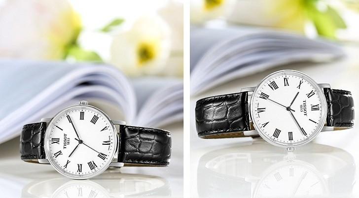 Đồng hồ Tissot T109.410.16.033.01 dây da chính hãng bền bỉ - Ảnh 5