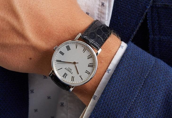 Đồng hồ Tissot T109.410.16.033.01 dây da chính hãng bền bỉ - Ảnh 6