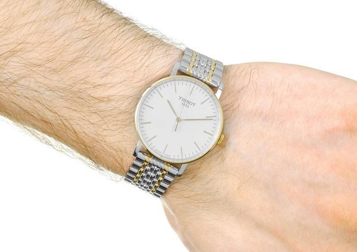 Đồng hồ Tissot T109.410.22.031.00 phiên bản Thụy Sỹ giá rẻ - Ảnh 1