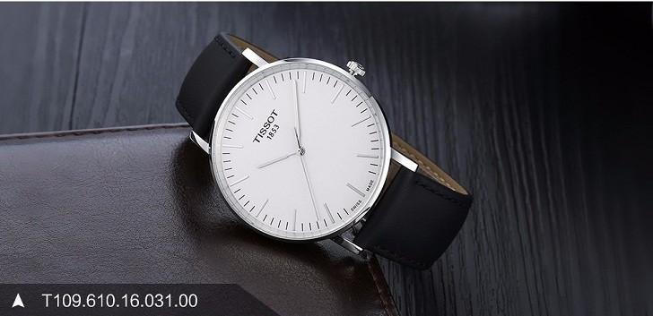 Đồng hồ Tissot T109.610.16.031.00 bộ dây da chính hãng - Ảnh 2
