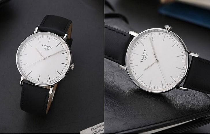Đồng hồ Tissot T109.610.16.031.00 bộ dây da chính hãng - Ảnh 3