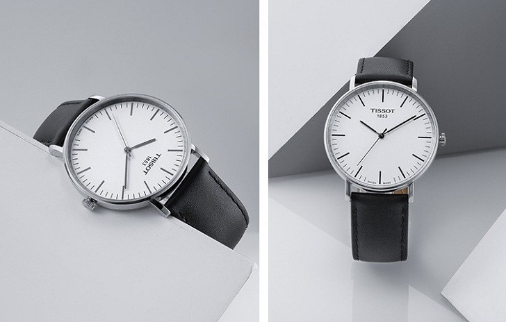 Đồng hồ Tissot T109.610.16.031.00 bộ dây da chính hãng - Ảnh 5