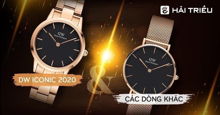 So sánh đồng hồ DW Iconic Link 2020 với các phiên bản cũ