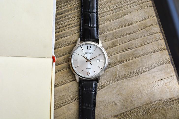 Đồng hồ Seiko SUR265P1 giá rẻ, thay pin miễn phí trọn đời - Ảnh 8