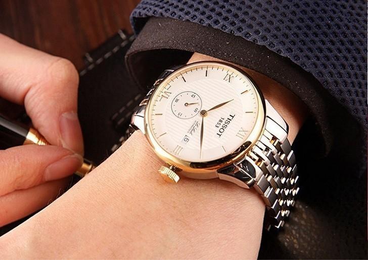 Đồng hồ Tissot T006.428.22.038.01 chức năng giây riêng biệt - Ảnh 2