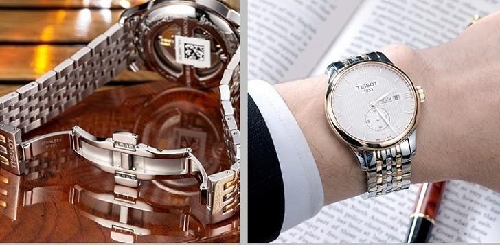 Đồng hồ Tissot T006.428.22.038.01 chức năng giây riêng biệt - Ảnh 4