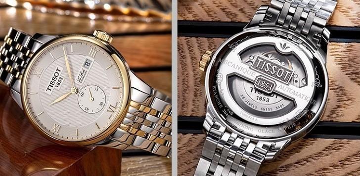 Đồng hồ Tissot T006.428.22.038.01 chức năng giây riêng biệt - Ảnh 5