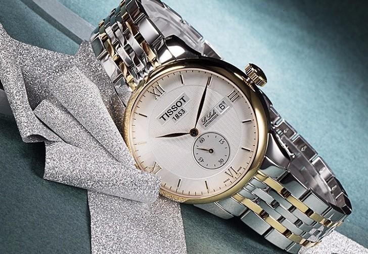 Đồng hồ Tissot T006.428.22.038.01 chức năng giây riêng biệt - Ảnh 6