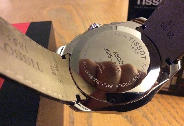 Đồng hồ Tissot T035.439.16.031.00 thoải mái bơi lội dưới hồ - Ảnh 5
