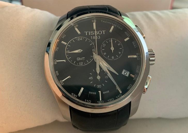 Đồng hồ Tissot T035.439.16.051.00 ba ô chức năng bấm giờ - Ảnh 2