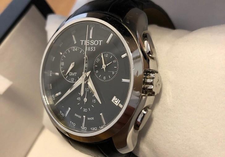 Đồng hồ Tissot T035.439.16.051.00 ba ô chức năng bấm giờ - Ảnh 4